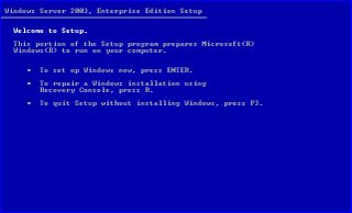 windowsserver2003installation2